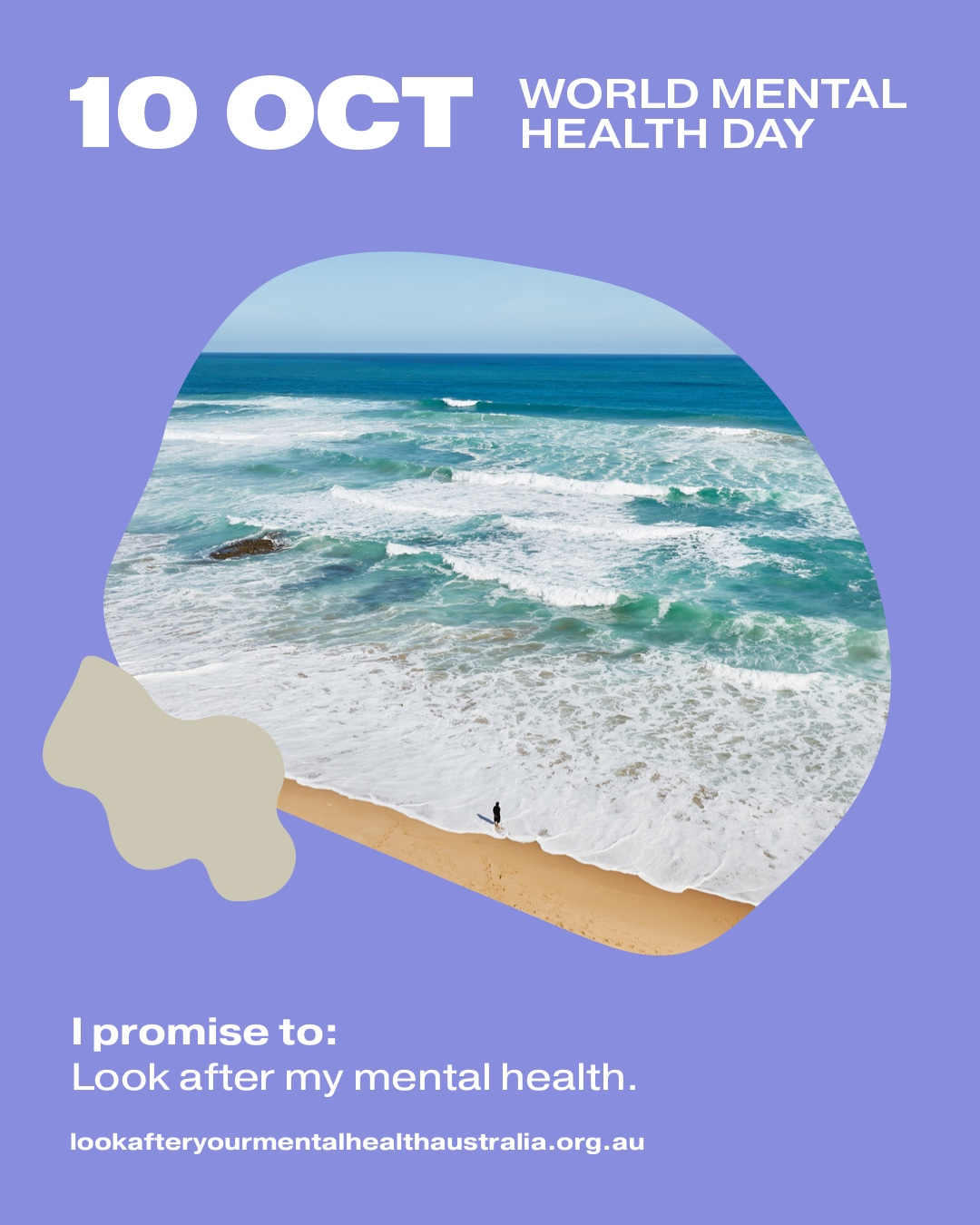 I promise to: Look after my mental health.