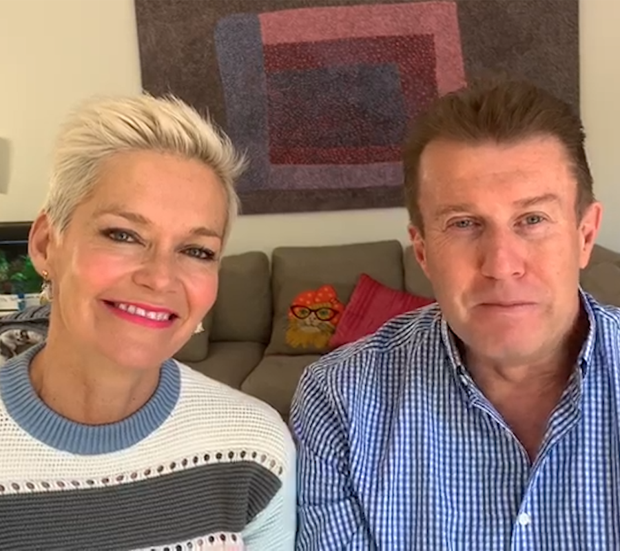 Jessica Rowe and Peter Overton, Mental Health Australia Patrons